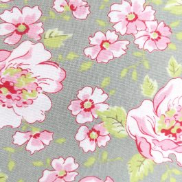 Ambleside by Brenda Riddle Designs for Moda #18600 Grey, Green, Pink, Red 1/2 Yard