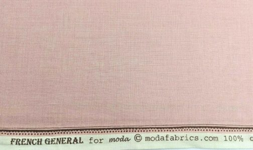 French General For Moda French Pink Solid