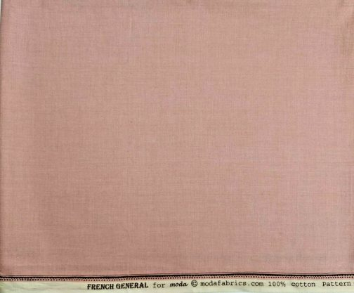 French General Solids Pink w/ Edge 100% Cotton #13529 by 1/2 Yard 2