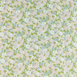 Ambleside by Brenda Riddle Designs for Moda #18603 Green, Blue, Pink, Sold by the 1/2 yard