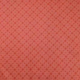 Kimberbell Basics Peachy Pink Dotted Circles by Kimberbell for Maywood Studios Folk Art Floral By the 1/2 Yard