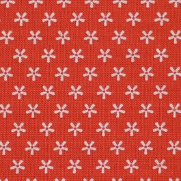 Lori Holt Bee Basics Tiny Daisy Red # C6403 Riley Blake Designs by the 1/2 Yard Red & White Quilting Fabric