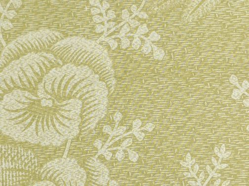 Plum Sweet by Blackbird Designs for Moda #2732 Tan & Cream Floral Sold by the 1/2 Yard 1