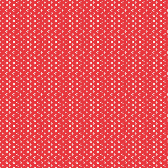 Lori Holt Basics Tiny Daisy Red # C6403 Riley Blake Designs by the 1/2 Yard Red & White Quilting Fabric