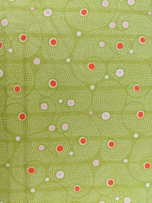 Fresh Squeezed By Sandy Gervais for Moda #17350 Lime Green, Orange, White, 4