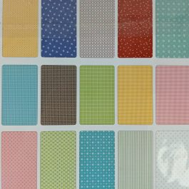 Prim by Lori Holt for Riley Blake Fabrics Pre-Cuts 10″ Square 42 Piece Stacker Retro Fabric
