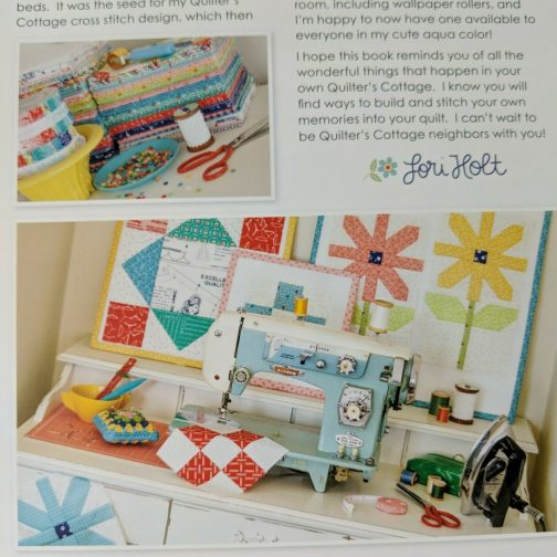 Quilter's Cottage by Lori Holt of Bee in My Bonnet Quilt Pattern Book Spiral Bound 1