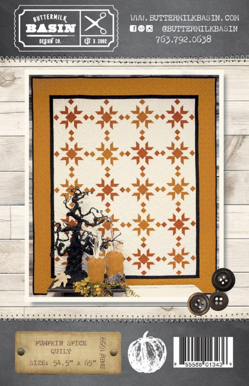 Pumpkin Spice Quilt Pattern By Buttermilk Basin Stacy West