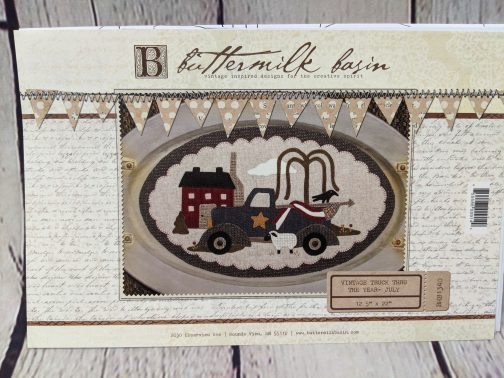 Buttermilk Basin Vintage Truck the the Year July